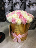 GRANDE SÉRIES | 50 STEMS | PINK n WHITE MIX - lasts 1 week - only Sydney delivery