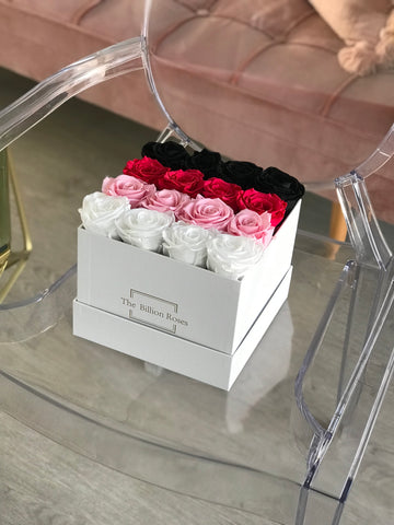 Le Square Ombré - Roses that last a year - only Sydney delivery
