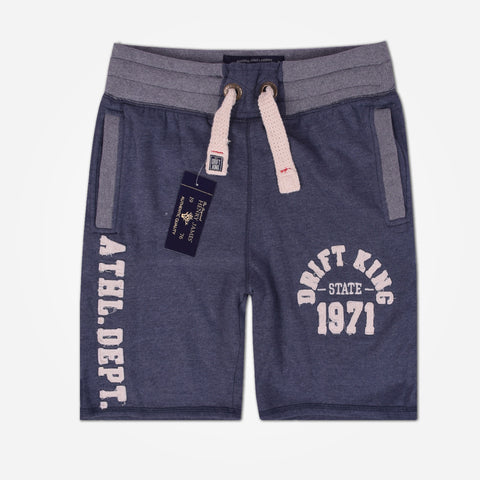"Men's Henry James ""Drift King"" Shorts - Denim Blue"