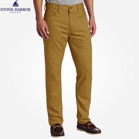 Men's Stone Harbor Slim fit Stretch Denim - Khaki