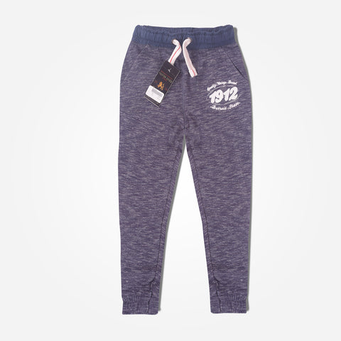 Kids Oliver Duke Nap Yarn Contrast Ribbed Extreme 1912 Jogger - Jeans Marl - klashcollection - 1