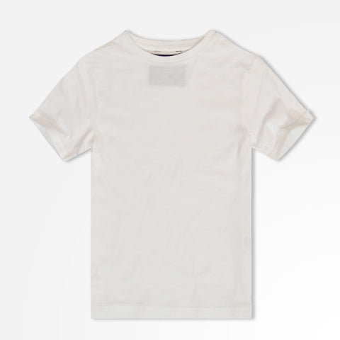 Kid's Henry James Short sleeves crew neck T-shirt - White