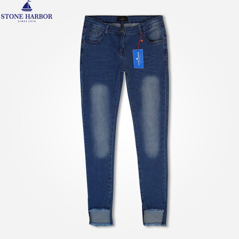 Stone Harbor's Women Slim fit Denim - Blue