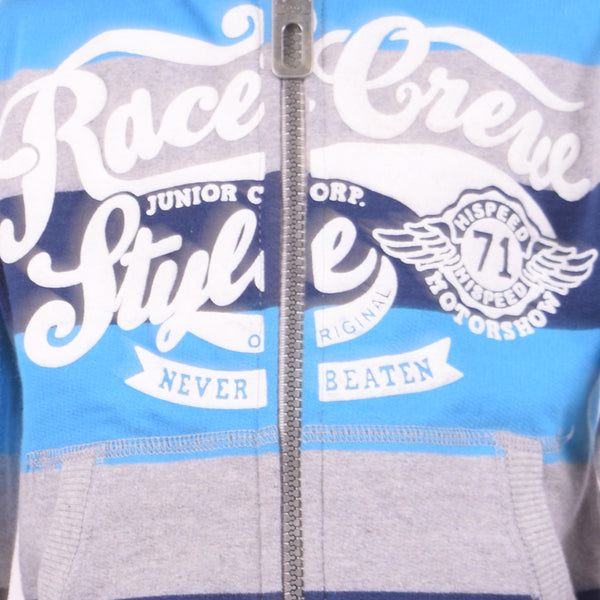 Kids Oliver Duke Race Crew Graphic Zipper Hoodie - klashcollection - 4