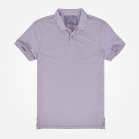 Men's Henry James Solid Pique Polo Shirt
