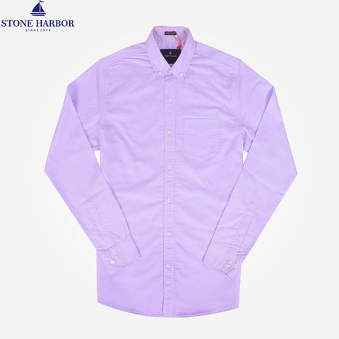 Copy of Men's Stone Harbor Single Pocket Casual Shirt - Light Purple - klashcollection - 1