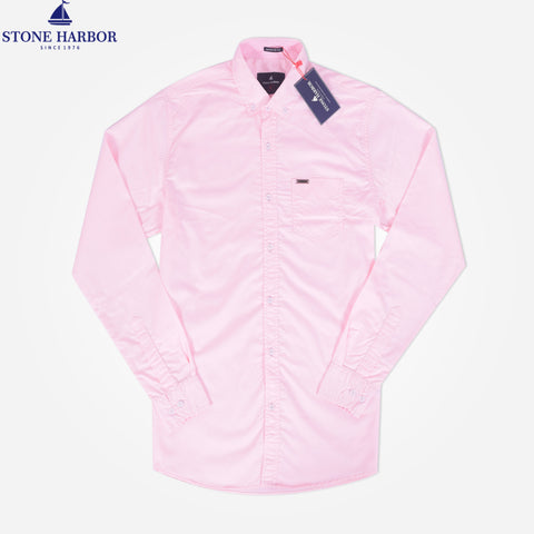 Copy of Men's Stone Harbor Double Pocket Hilton Casual Shirt - Light executive Pink - klashcollection - 1