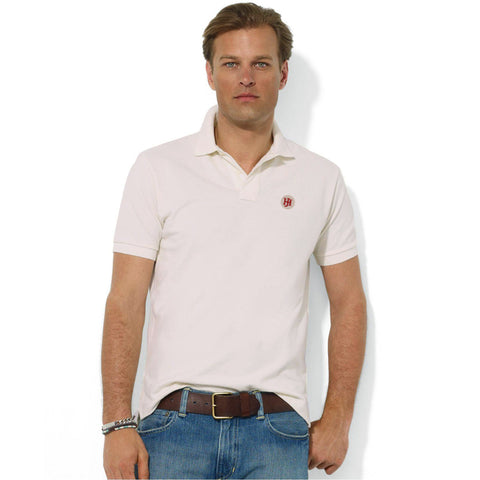 Men's Henry James Heavy Washed Short Sleeves Polo Shirt - Ecru