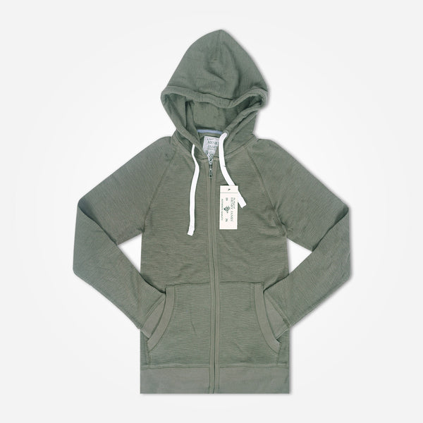 Men's Henry James Kangaroo pocket hoodie - Khaki Green - klashcollection - 1