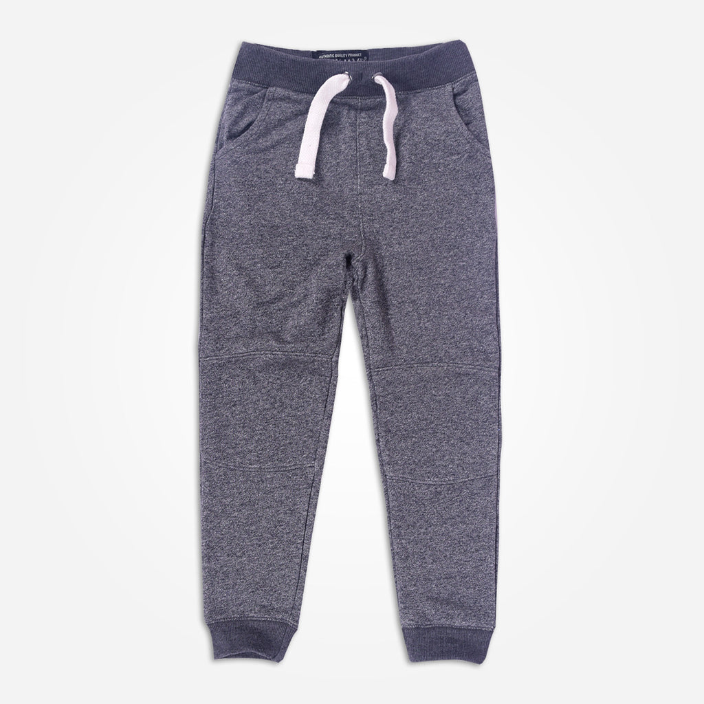 Kids Henry James  ZEUS Close Bottom Jogger - Charcoal Marl - klashcollection - 1