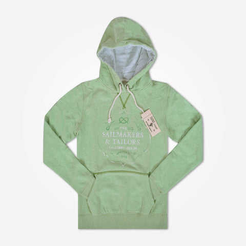 Men's Henry James Printed Pullover Graphic Hoodie - Mint Green - klashcollection - 1