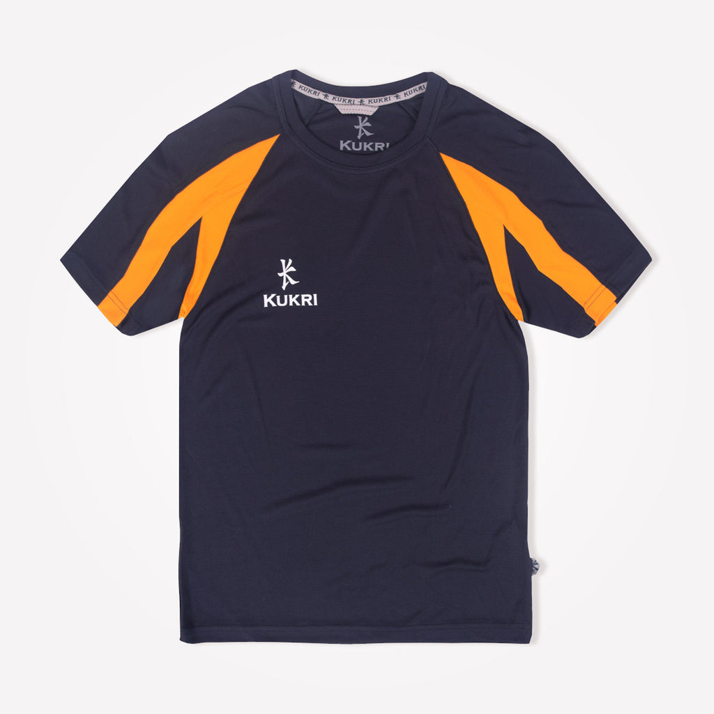 Kids Kukri Quick Dry Paneled Sports T- Shirt - klashcollection - 1