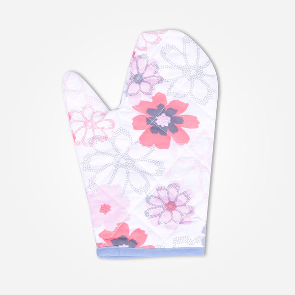 Galaxy Lt. Pink Floral Kitchen Accessories Set - klashcollection - 4