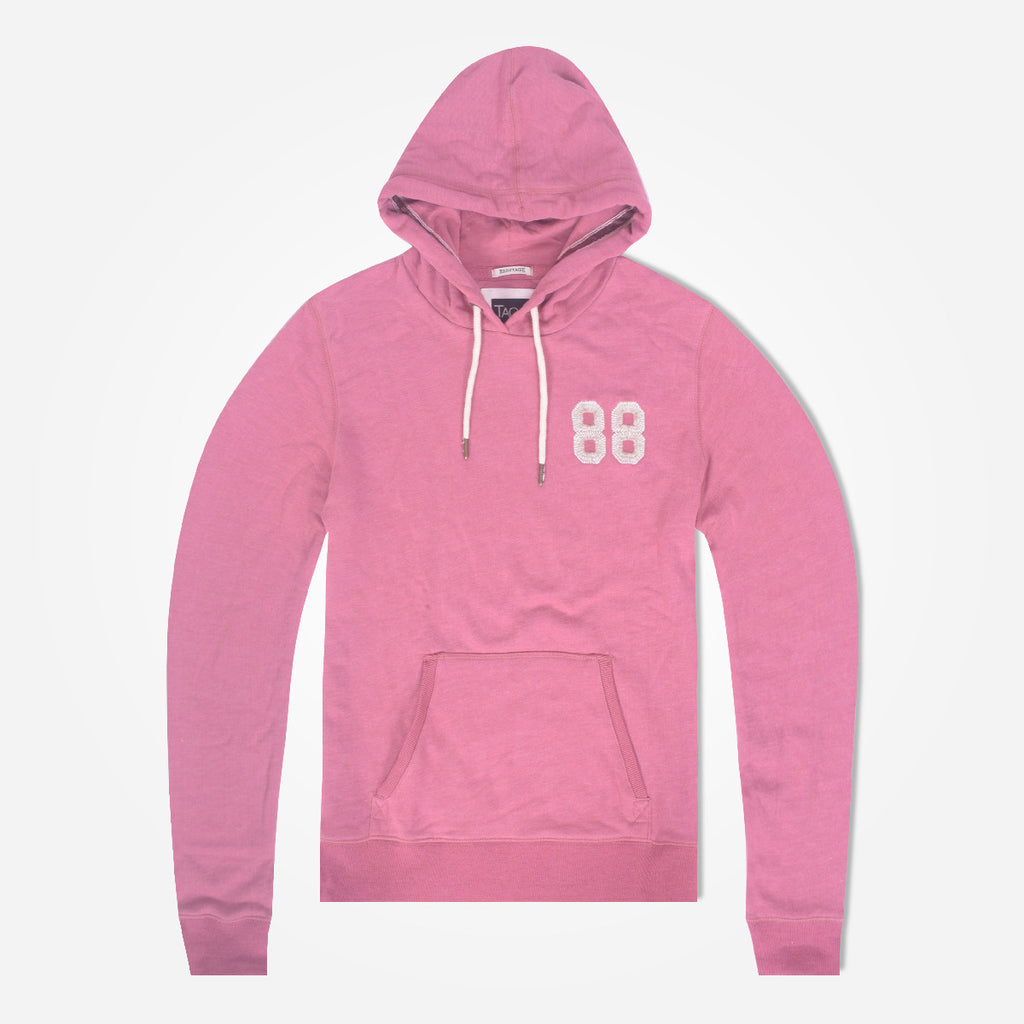Women TAGG 88 Over Head Hooded - Peach Pink - klashcollection - 2