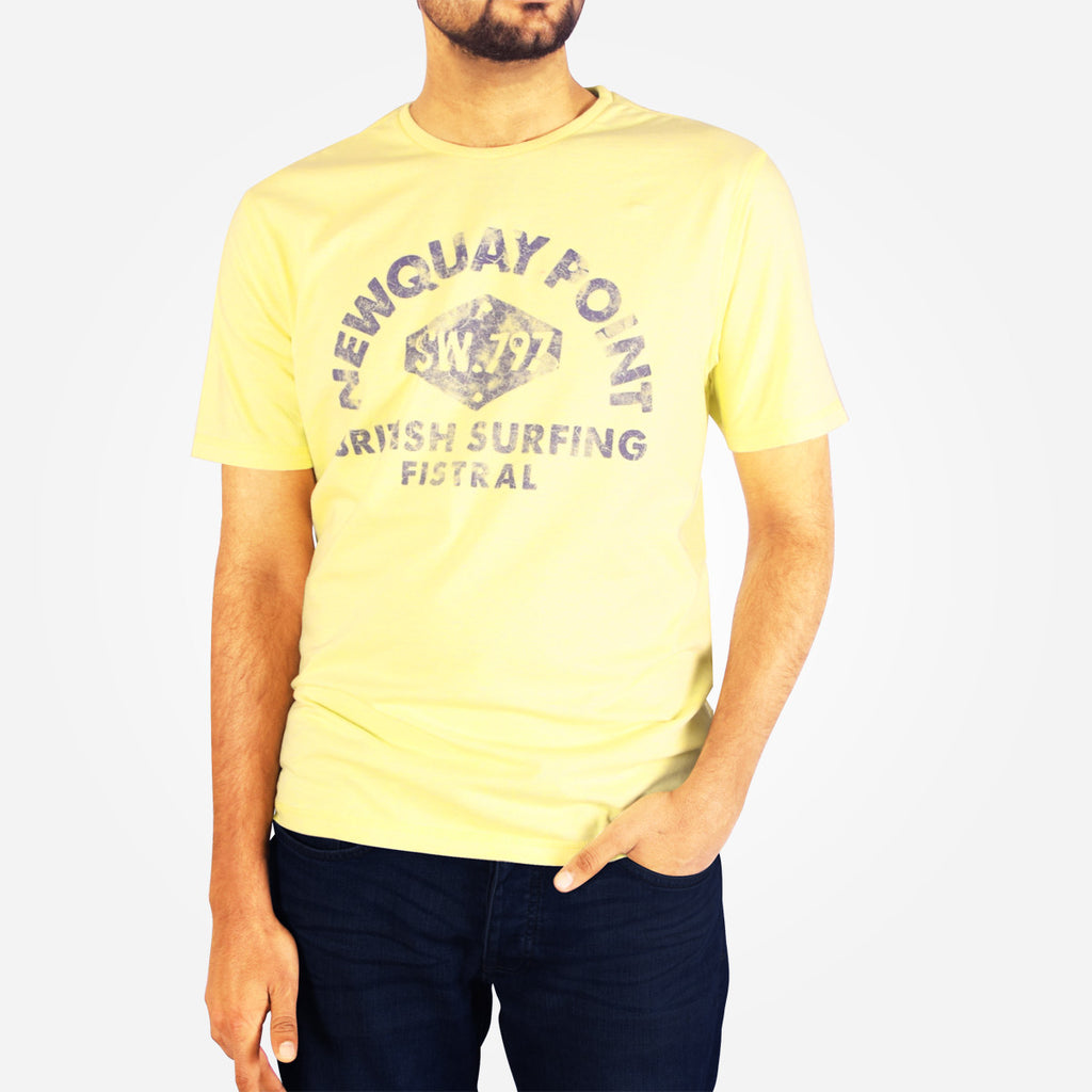 Men's Henry James NEWQUAY Point Crew T-Shirt - klashcollection - 1