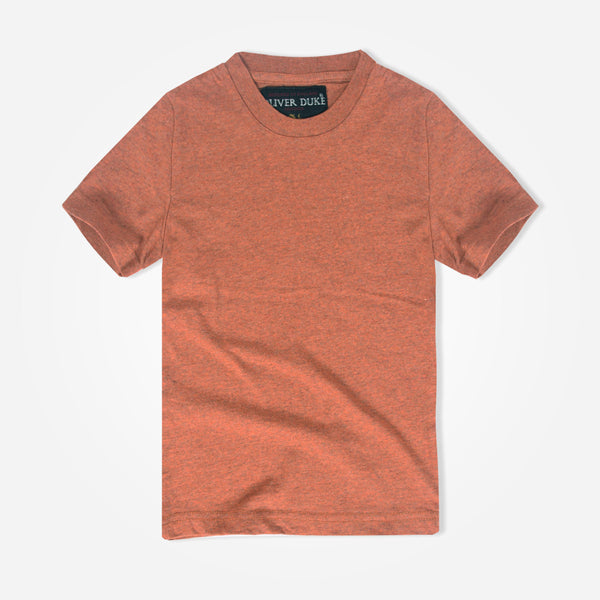 Kids Oliver Duke Melange Basic T-Shirt - klashcollection - 1