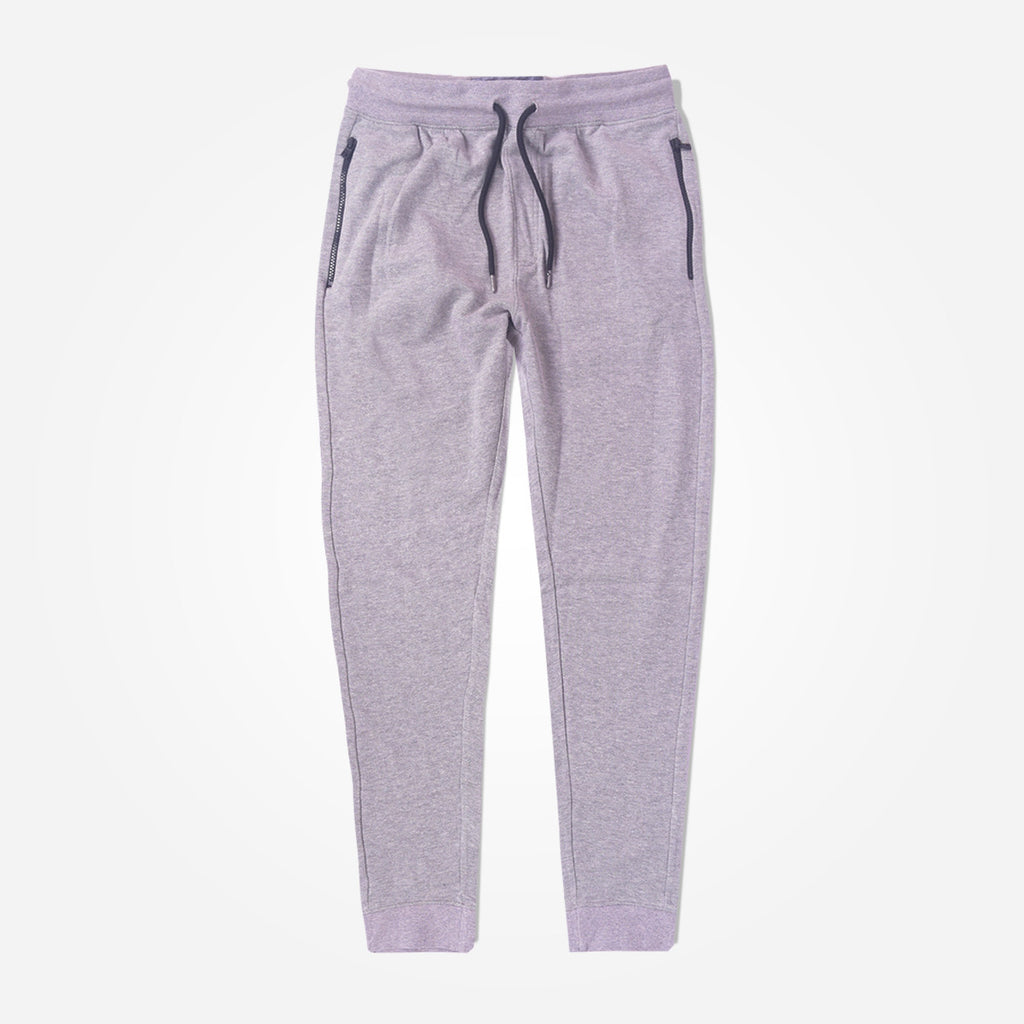 Men's Henry James Double Pocket Fleece Jogger - Grey Marl - klashcollection - 2