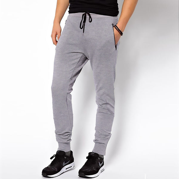 Men's Henry James Double Pocket Fleece Jogger - Grey Marl - klashcollection - 1