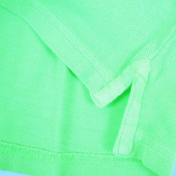 Men's Henry James Neon Short sleeve Polo Shirt - Neon Green - klashcollection - 4