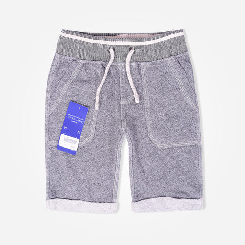 Kid's Henry James double pocket short - Grey - klashcollection - 1