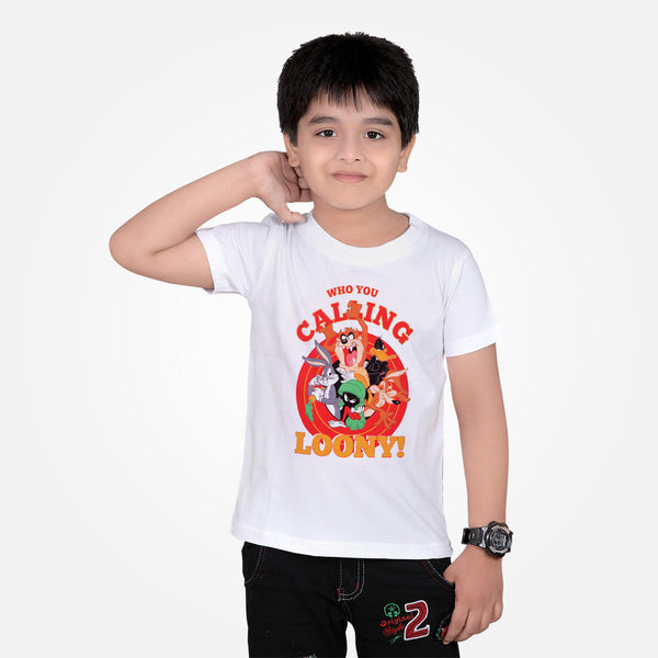 Kids Oliver Duke Loony Crew Neck Graphic T-Shirt - klashcollection - 1