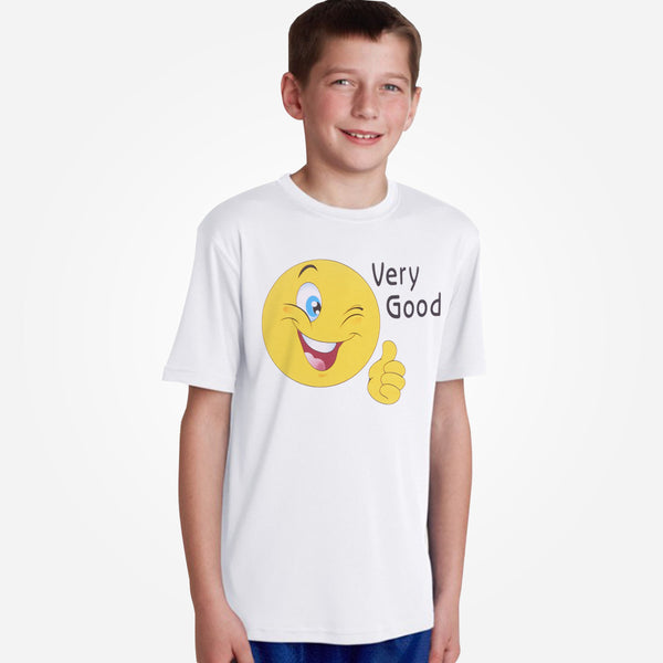 "Kids Oliver Duke ""Very Good"" Crew Neck Graphic T-Shirt - klashcollection - 2"