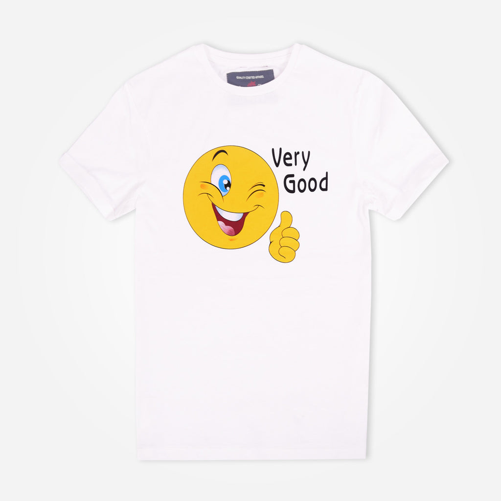 "Kids Oliver Duke ""Very Good"" Crew Neck Graphic T-Shirt - klashcollection - 1"