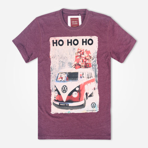 "Men's Henry James "" HO HO HO"" Graphic T-Shirt - klashcollection - 1"