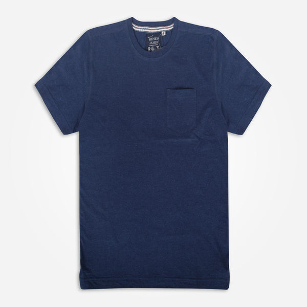 Men's Henry James Solid Colored Pocket T-Shirt - klashcollection - 1