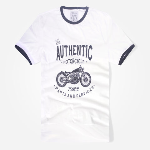 "Men's Henry James ""Motorcycle"" Graphic Ringer T-Shirt - klashcollection - 1"