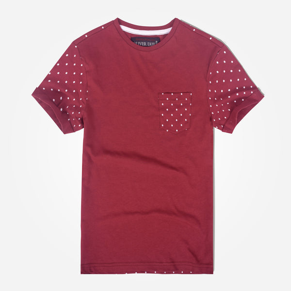 Kids Oliver Duke Polka Dots Pocket T-Shirt - klashcollection - 1