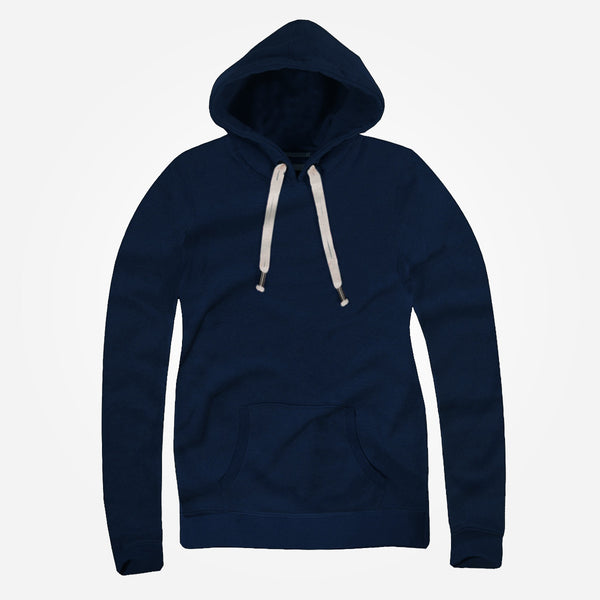 "Women ""TAGG"" Super Soft Heritage Hoody - Navy - klashcollection - 1"