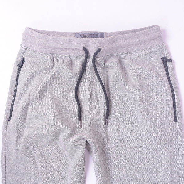 Men's Henry James Double Pocket Fleece Jogger - Grey Marl - klashcollection - 3