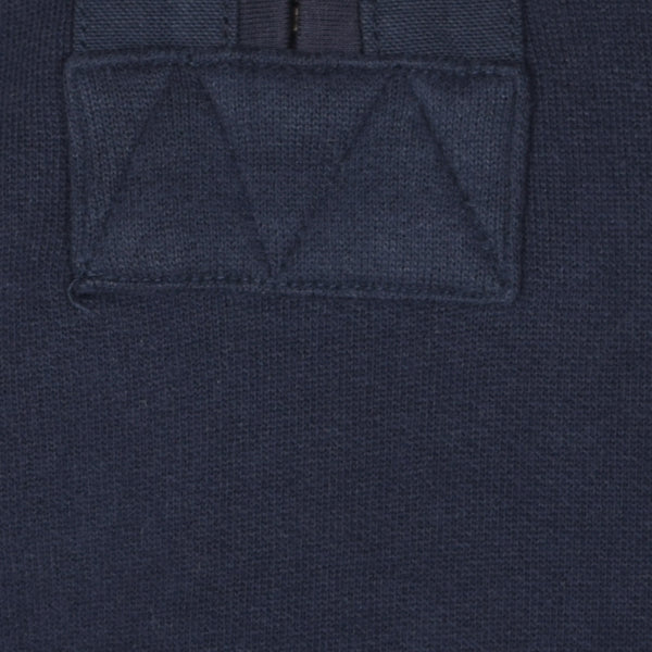 Men's Henry James 1/4 Zipper Sweat with 2 Side Pockets - Navy - klashcollection - 3