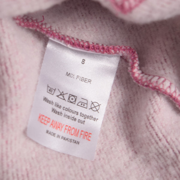 "Women ""TAGG"" Super Soft Heritage Hoody - Pink Marl - klashcollection - 6"