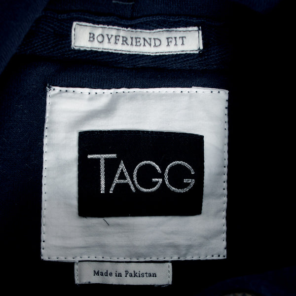 "Women ""TAGG"" Super Soft Heritage Hoody - Navy - klashcollection - 2"