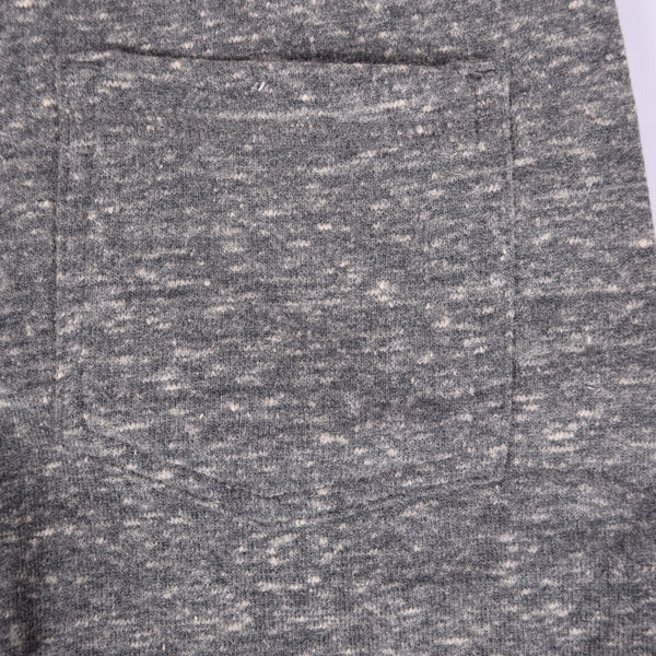 Kids Oliver Duke Ribbed Waistband Fleece Short - Charcoal Marl - klashcollection - 5