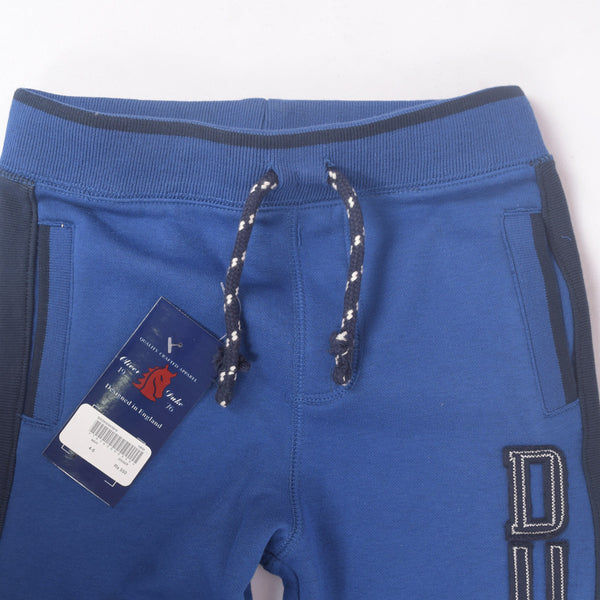 Copy of Kid's Oliver Duke DUDE close bottom Jogger With Side panels - Royal - klashcollection - 2