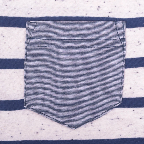 Kid's Oliver Duke Nap Yarn Striped Pocket T-Shirt - klashcollection - 2