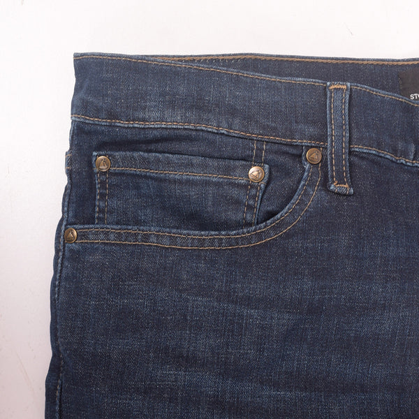 Men's Stone Harbor Vintage Wash Straight Fit Light Weight Denim - klashcollection - 3