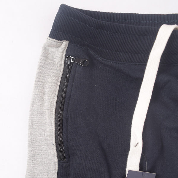 Men's Henry James Contrast panel Winter Jogger - Navy - klashcollection - 2