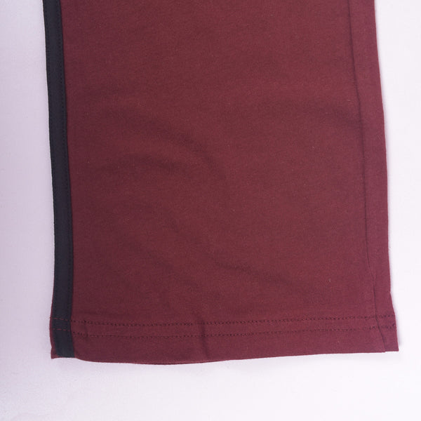 Men's Henry James Super Soft Solid Loungewear Trouser - Burgundy - klashcollection - 2