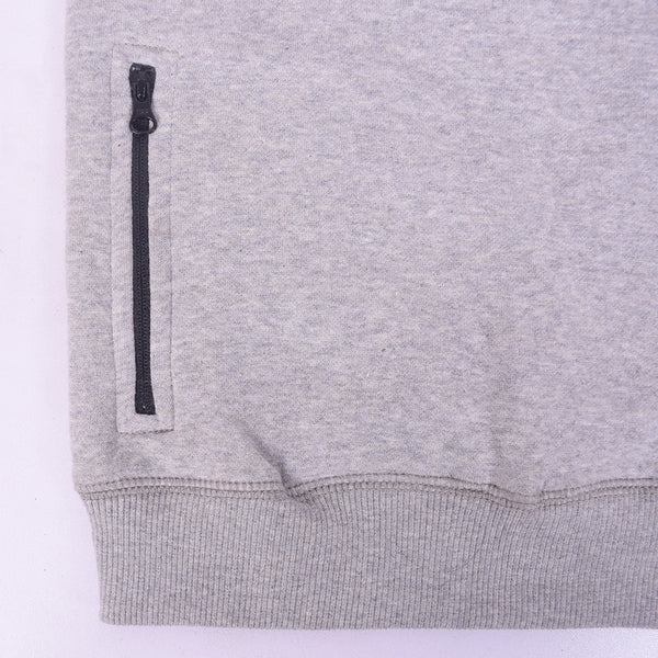 Kid's Oliver Duke Long sleeve sweat with side zipped Pockets - Grey - klashcollection - 2