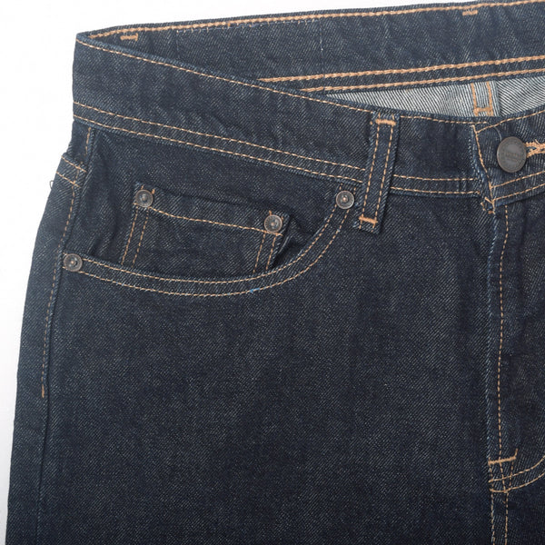"Men's ""Dressmann"" Five Pocket Midnight Streight Fit Denim - klashcollection - 2"