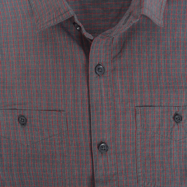 Men's Stone Harbor Thin check casual shirt - klashcollection - 2