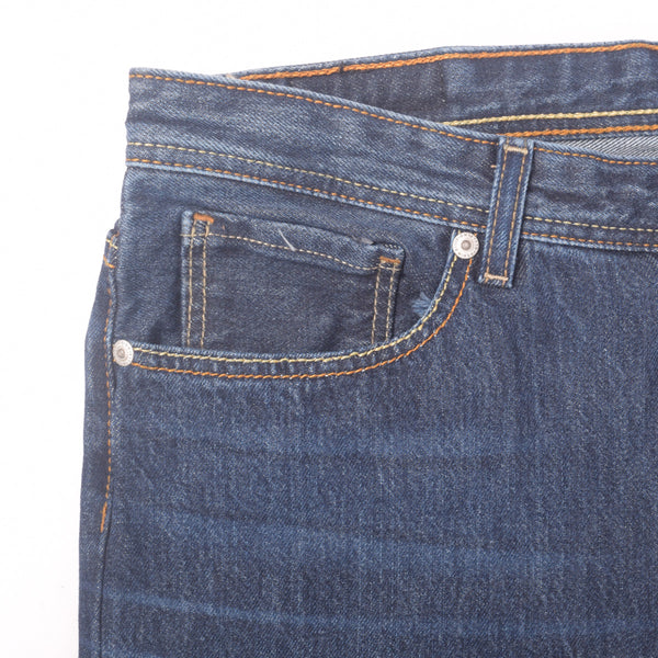 "Men's ""Dressmann"" Five Pocket Vinatge Wash Streight Fit Denim - klashcollection - 3"