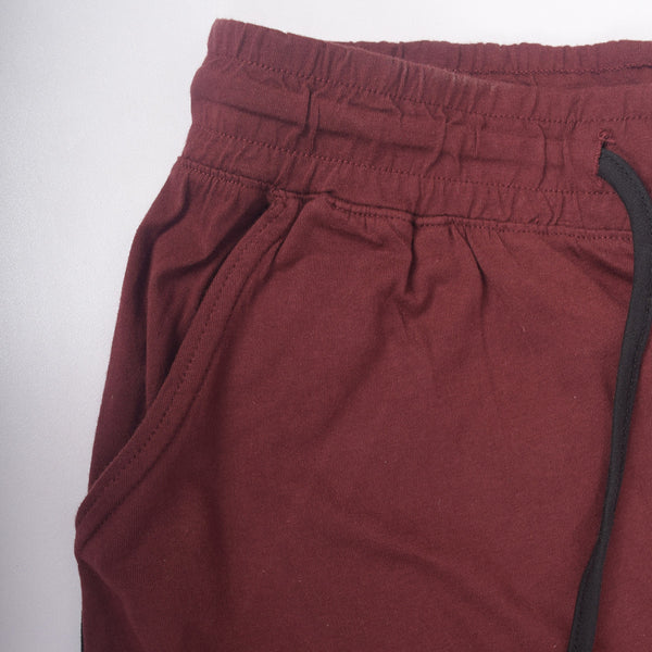 Men's Henry James Super Soft Solid Loungewear Trouser - Burgundy - klashcollection - 3