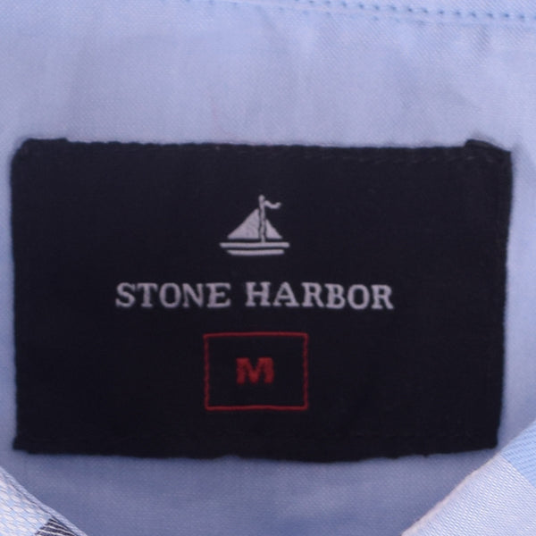 "Men's ""Stone Harbor ""White Check Casual Shirt - klashcollection - 3"
