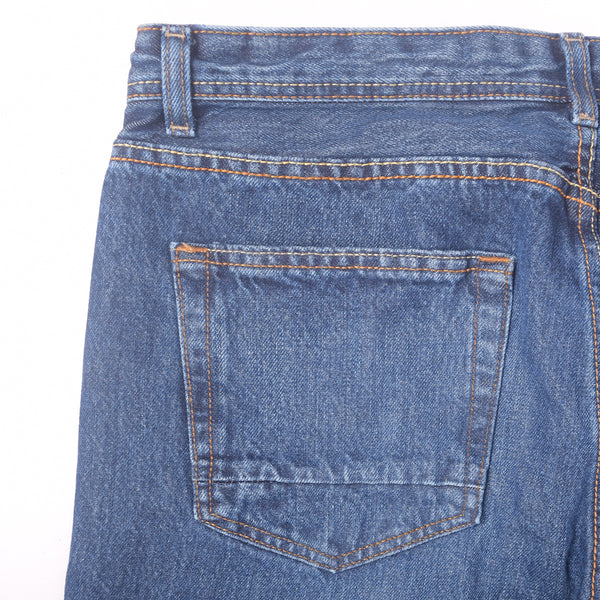 "Men's ""KooKai"" Mid Wash Straight Fit Denim - klashcollection - 4"