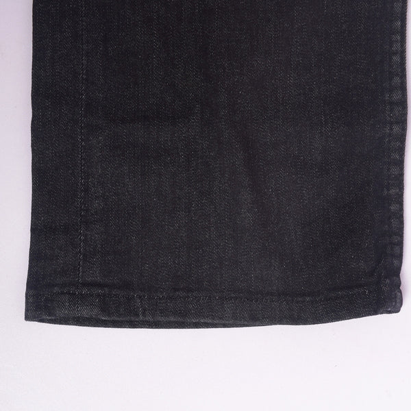 Copy of Men's Stone Harbor Rinse Wash Solid Black Straight  Dynamic Stretch Denim - klashcollection - 5